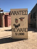 Image for Wanted Posters - Peach Springs, AZ
