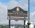 Image for Welcome and Sister City Sign — Douglas, Isle of Man