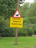 Image for Swan  Warning - Giffard Park - Milton Keynes - Buck's