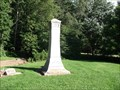 Image for Foster Family Obelisk - Beulah Cemetery - rural Fountain County, IN