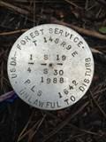 Image for T14S R9E S19 30 1/4 COR - Deschutes County, OR