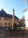 Image for The Fontain Of Stockbrunnen , Ammerschwihr, Haut-Rhin/FR