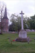 Image for Combined War Memorial, Church Green, Church Road, Terling, Essex