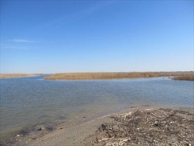 Lake Manitoba at the end of the road