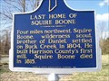 Image for Last Home of Squire Boone