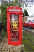 Image for Red Telephone box - Cotesbach, Leicestershire, LE17 4HZ