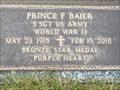 Image for 100 - Prince F. Baier - Sunset Memorial Gardens  - Fargo, ND