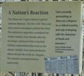 Image for A Nation's Reaction -- Marais des Cygnes SHS, Linn Co. KS