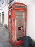 Image for Red Telephone Box - Turin, Italy