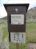 Image for Utah Division of Wildlife Resources Sportsman Trail Walk-in Access Registration Box - Highway 132, Utah