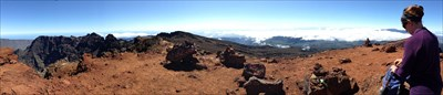 Panoramique au sommet