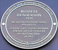 Image for Russell Henderson - Tavistock Road, London, UK