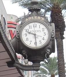 adler 39 s clock new orleans la town clocks on. Black Bedroom Furniture Sets. Home Design Ideas
