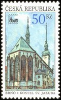 Image for Saint Jacob Church, Brno, Czech Republic