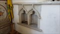 Image for Piscina - St Mary - Dinton, Wiltshire