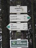 Image for Direction and Distance Arrow - Rájecko, Czech Republic