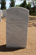 Image for Sherman Hemsley - Fort Bliss National Cemetery - El Paso, TX