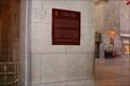 Image for Union Station Historic Plaque - Toronto