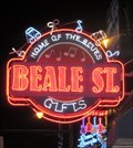 Image for Beale Street Gift Shop - Artistic Neon -  Memphis, Tennessee, USA.