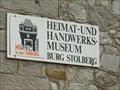 Image for Heimat- und Handwerksmuseum - Burg Stolberg - Oberstolberg, Nordrhein-Westfalen / Germany