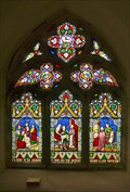 Image for Glass in St Michaels Church, Cotham, Nottinghamshire, UK