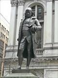 Image for Statue of Benjamin Franklin - Satellite Oddity - Boston, Massachusetts, USA
