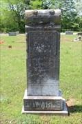 Image for William M. Edwards - Union Grove Cemetery - Reno, TX