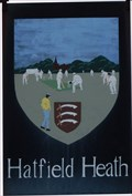 Image for Village Sign, Green, Hatfield Heath, Essex, UK