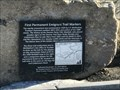 Image for First Permanent Emigrant Trail Markers - Truckee, CA