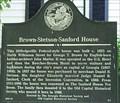 Image for Brown-Stetson-Sanford House-GHSOCHS 5-1-Baldwin Co
