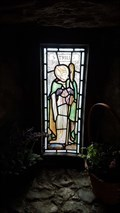 Image for Stained Glass Windows - St Trillo's chapel - Rhos-on-Sea, Clwyd, Wales