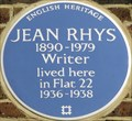 Image for Jean Rhys - Paultons Square, London, UK