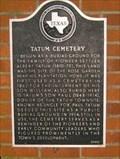 Image for Tatum Cemetery