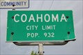 Image for Coahoma, TX - Population 932