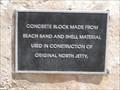 Image for Original Jetty Concrete Block - Surfside, TX