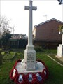 Image for Combined WWI & WWII Memorial Cross - St Mary & St Botolph - Whitton, Suffolk