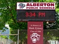Image for Alberton School Time-Temp-Date - Alberton, MT