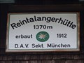 Image for 1370m - Reintalangerhütte, Garmisch-Partenkirchen, Bavaria, Germany