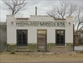 Image for Highland Service Station -- US 90 E of Marfa TX
