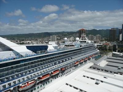 Aloha Tower Cruise Ship Port  Honolulu HI  Cruise Ship