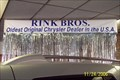 Image for OLDEST -  Original Chrysler Dealer in the USA  - Rink Bros. Chrysler