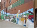 Image for Historic Route 66 - Farmers Market Mural - Webb City, Missouri, USA.