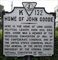 Image for Home of John Goode