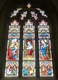 Image for Stained Glass Windows, St Ippolyts Church, St Ippolyts, Herts, UK