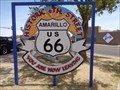 Image for Historic 6th Street - Route 66 - Amarillo, Texas, USA.
