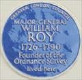Image for Major-General William Roy - Argyll Street, London, UK