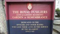Image for The Royal Fusiliers Garden of Remembrance - Holborn Viaduct, London, UK