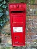 Image for Victorian Wall Post Box - Upper Farringdon near Alton - Hampshire - UK
