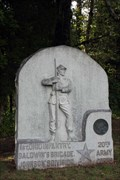 Image for 1st Ohio Infantry Regiment Monument - Chickamauga National Battlefield.