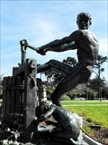 Image for Apple Cider Press statue - San Francisco, California